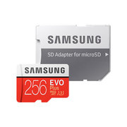 Samsung micro securedigital 256gb sdxc evo plus class10 uhs-i u3 mb-mc256garu адаптер sd 580760 фото